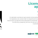 """Taller """"Licencias de apertura"""". Fundación Mujeres."""