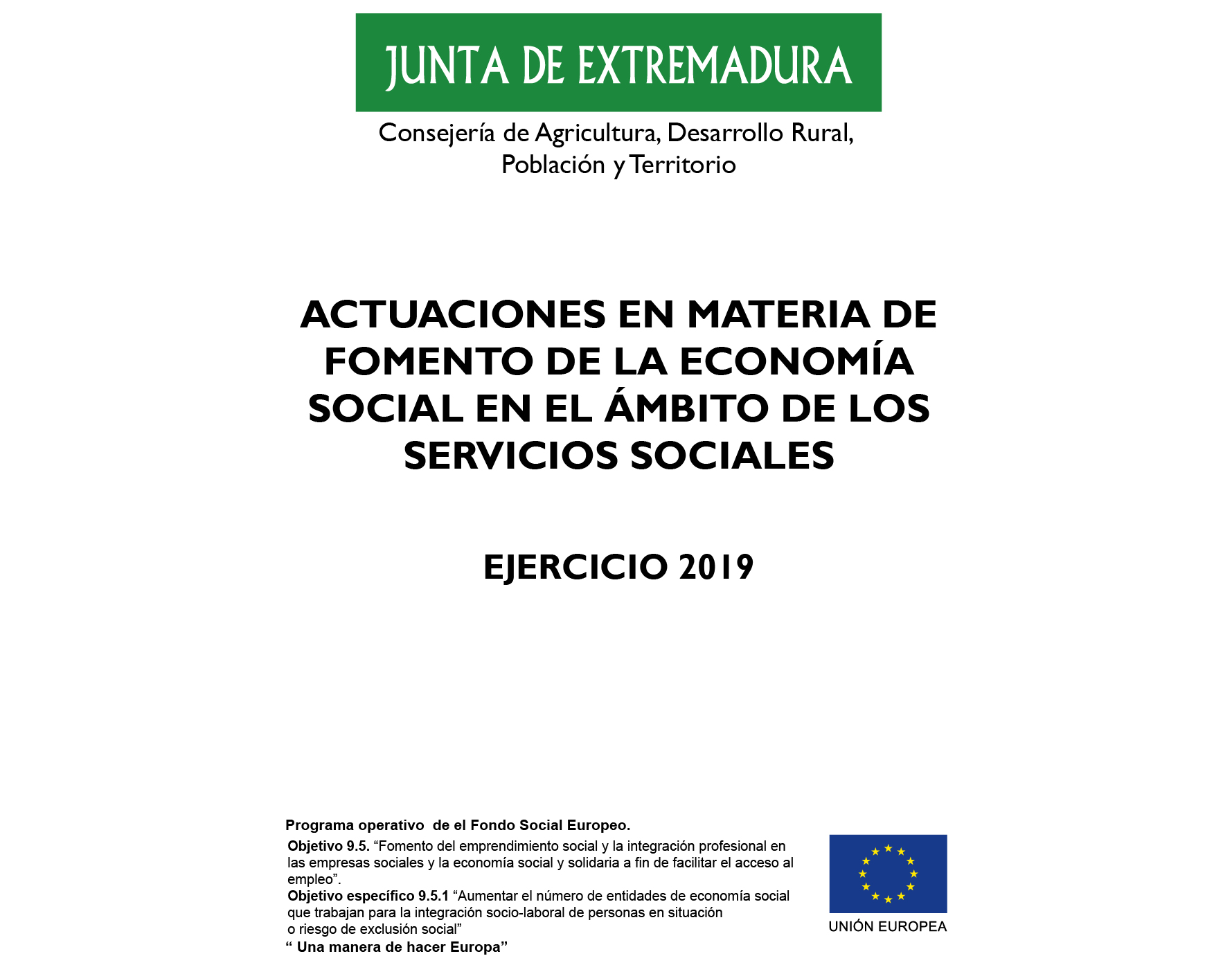 cartel proyecto ambito social aexlab 2019-03