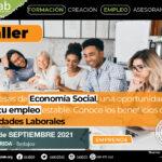 Taller Empresas de Economía Social, una oportunidad de crear tu empleo estable basado en las Sociedades Laborales. Mérida