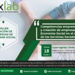 Taller creación de empresas de Economía Social en el ámbito de los Servicios Sociales en Esparragalejo(Badajoz).