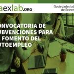 Convocatoria de subvenciones para el fomento del autoempleo