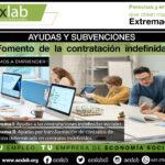 Convocatoria de las subvenciones para el fomento de  la  contratación  indefinida