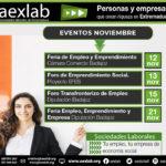 Eventos aexlab mes Noviembre