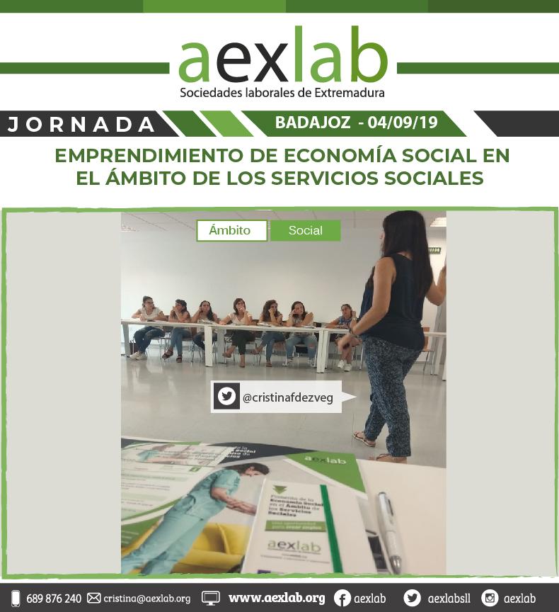 fotos de los asistentes a la jornada ambito social badajoz aexlab-01