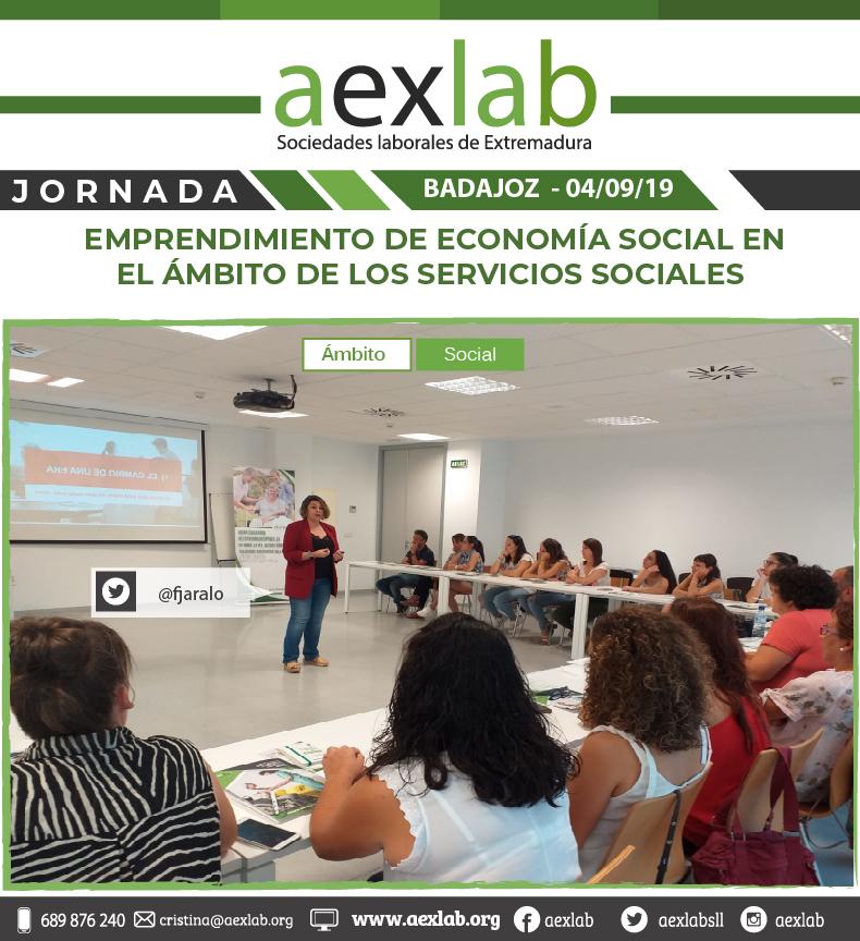 fotos de los asistentes a la jornada ambito social badajoz aexlab-02