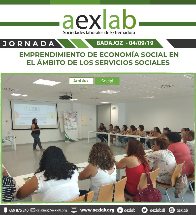 fotos de los asistentes a la jornada ambito social badajoz aexlab-03