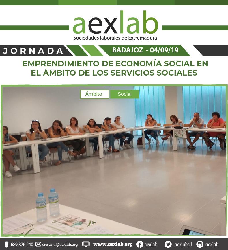 fotos de los asistentes a la jornada ambito social badajoz aexlab-04