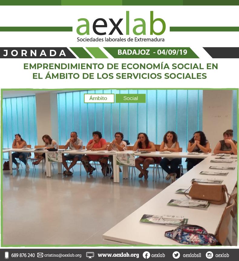 fotos de los asistentes a la jornada ambito social badajoz aexlab-05