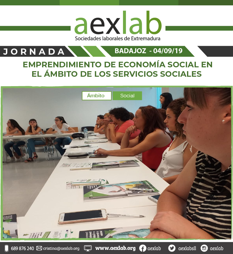 fotos de los asistentes a la jornada ambito social badajoz aexlab-06