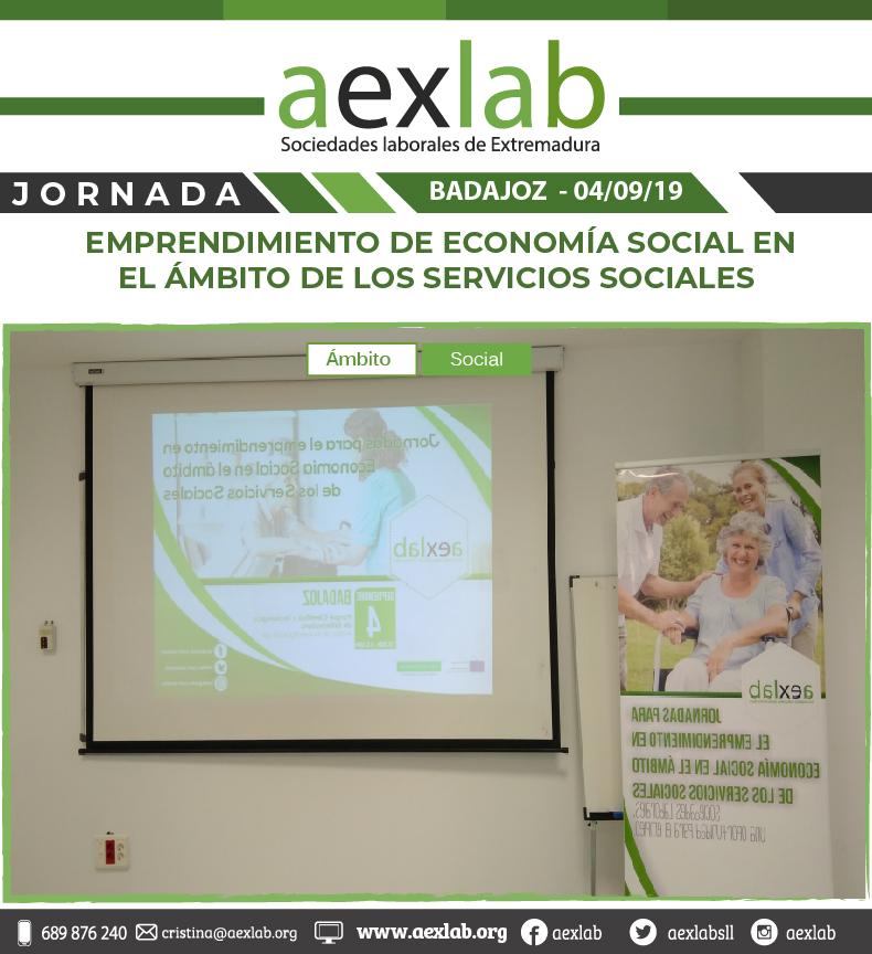 fotos de los asistentes a la jornada ambito social badajoz aexlab-07