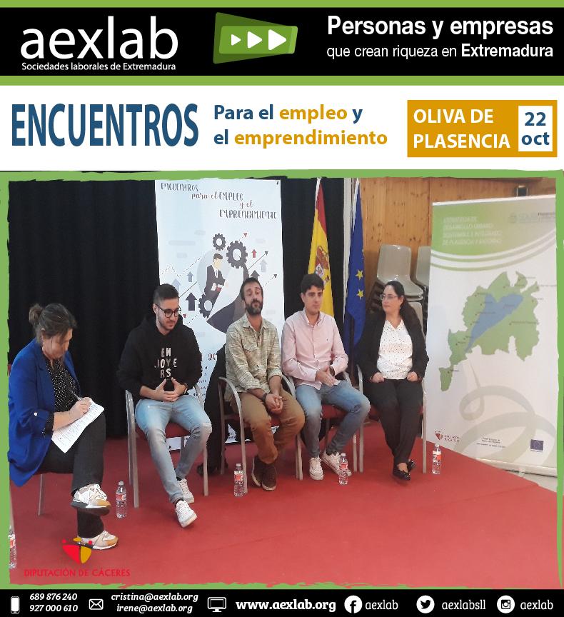 mesa redonda encuentros para el empleo oliva de plasencia aexlab-01