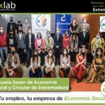 Aexlab colabora en el proyecto Escuela joven de Economía Social y Circular en Extremadura