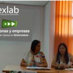 Reunión  Aexlab y la Directora de Cooperativas y Economía Social
