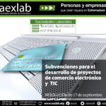 Subvenciones a otorgar a proyectos de comercio electrónico y TIC