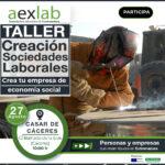 Taller «Sociedades Laborales: empresas de economía social», Casar de Cáceres