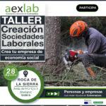 Taller «Sociedades Laborales: empresas de economía social», Roca de la Sierra