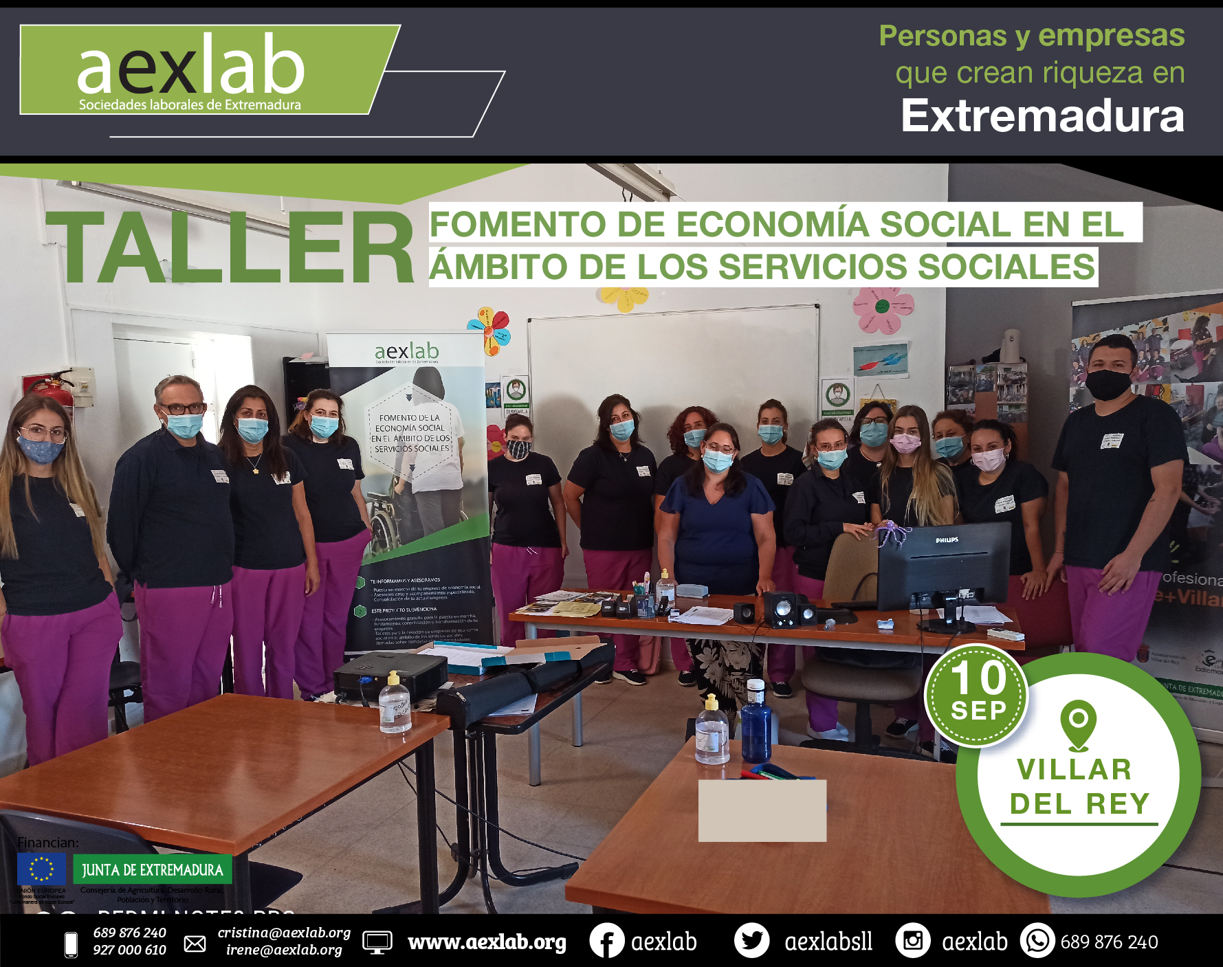 taller villar del rey ambito social aexlab 2020-01