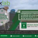 Taller sobre Competencias emprendedoras y creación de empresas de Economía Social en el Ámbito de los Servicios Sociales en Salvaleón (Badajoz)